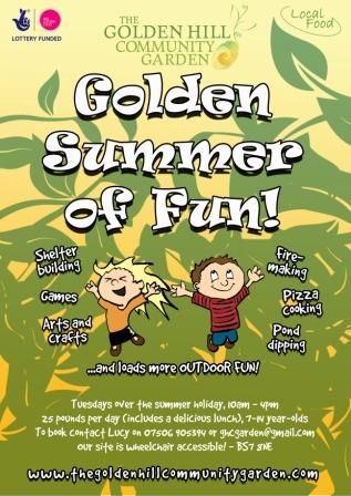 Golden Summer poster 4 small