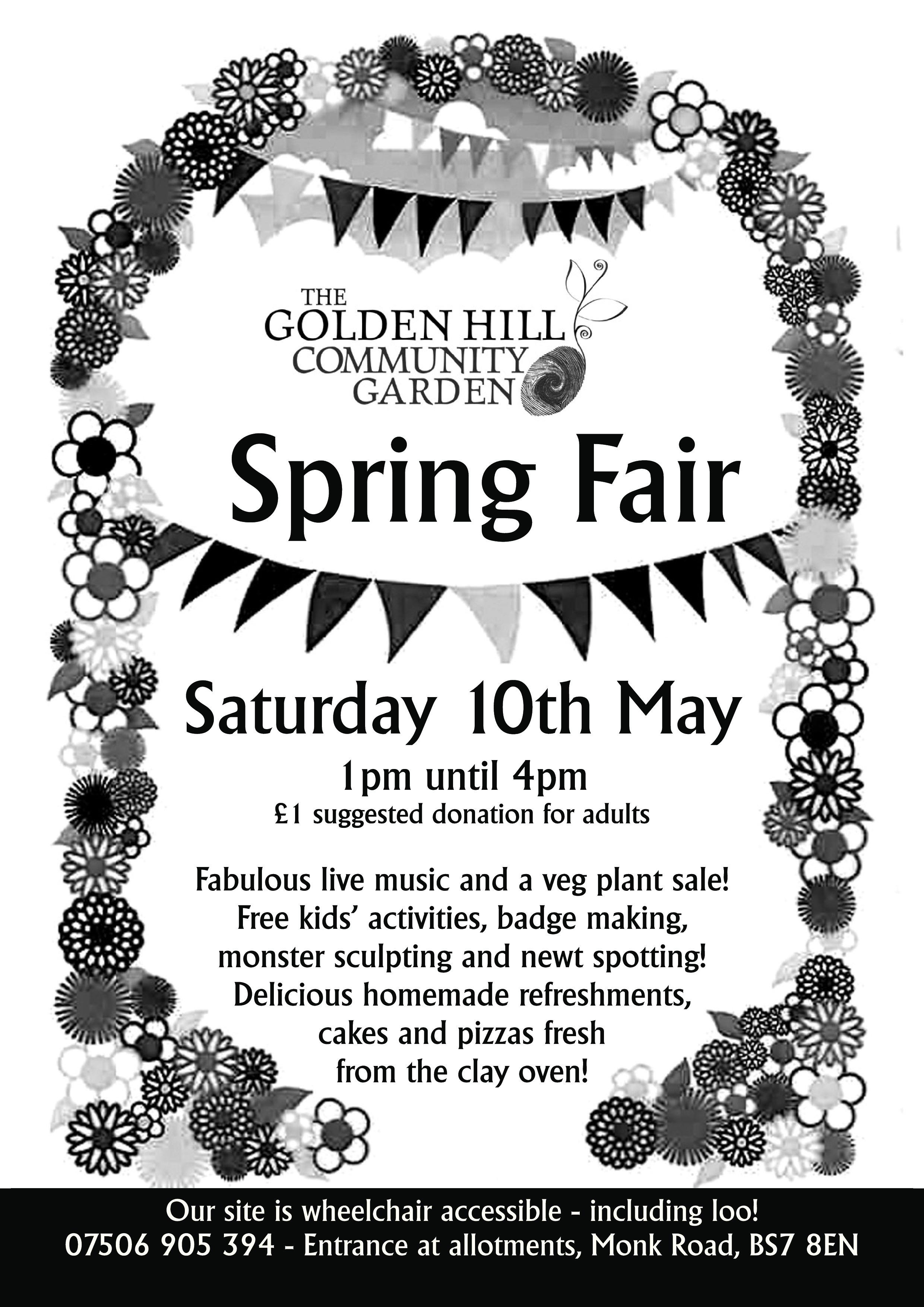 Spring fair flyer 2014